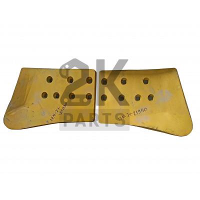Нож отвала правый Komatsu D155A-3/17M-71-21940