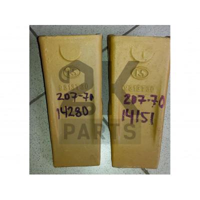 Коронка ковша STD 206-70-48610  Komatsu PC220-2/207-70-14151